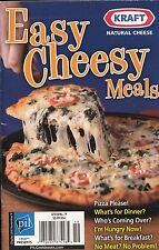 KRAFT NATURAL CHEESE EASY CHEESY MEALS FAVORITE BRAND NAME RECIPES COOKBOOK YUM!