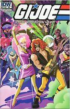 Comic Book G.i Joe Jem and the Holograms vs. Zartan Cold Slither #112 Variant