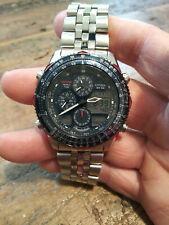 Citizen Navihawk Thrunderbirds C300 100M Men's Alarm Chronograph Watch Nice!!!