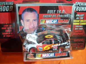 NASCAR RULES MARK MARTIN EAGLE 1 CAR 1/64 scale RULE #16.0 HOOD & TRUNK OPENS