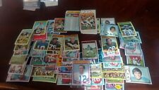1972 topps football cards 1st and 2nd series complete 263/263 nice staubach r/c