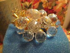 Swarovski Crystal Beautiful 15 Grapes. Retired