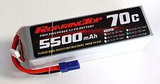 RoaringTop LiPo Battery Pack 70C 5500mAh 6S 22.2V with EC5 Plug