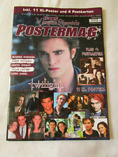 ICONS Vampire Chronicle Poster magazine Zeitschrift  01/2011 Twilight