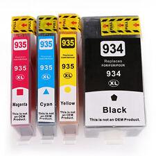 4x 934XL 935XL Ink Cartridge for HP Officejet 6830 3835 6800 6812 6815 6820 6836