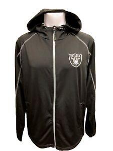 G-III Sports Oakland Raiders Men's Resistance Full Zip Hoody Jacket M-5XL