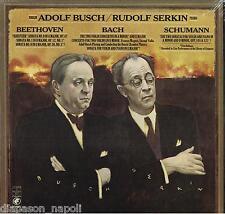Beethoven: Sonate Per Violino N.1, 8, 9; Bach: Concerti etc / Serkin, Busch - LP