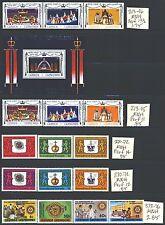 GRENADA GRENADINES 213-376 SG215-380 MNH 1977-80 5 sets, 1MS Cat$7