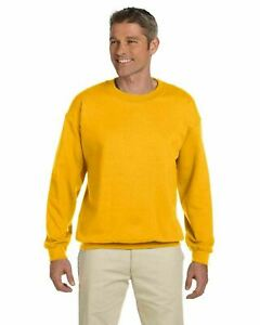 Gildan Heavy Blend Crewneck Sweatshirt 18000 S-5XL NEW 50/50 cotton polyester