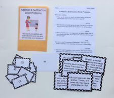 Teacher Made Math Center Common Core Resource Addition/Subtraction Word Problems