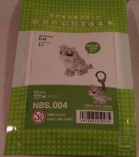Kawada nanoblock Mini Animal Cat - japan building toy NBS_004 Worldwide