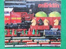 MÄRKLIN HO CATALOGUE 1982 1983 MODELISME FERROVIAIRE TRAINS ELECTRIQUES