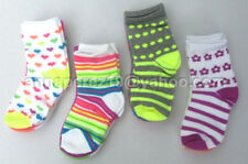 65% OFF! 12 PAIRS COTTON TODDLER SOCKS ASSORTED PRINTS 3-5 YRS BNEW SRP US$12.99