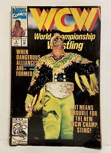 WCW World Championship Wrestling 4 July 1992 Marvel Comics