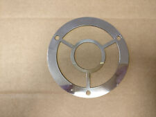 Round Stainless Steel 316 Grade Drain Cover Gully Grid Grate + 3 Fixing Holes