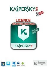 KASPERSKY INTERNET SECURITY 2019 3 POSTES / 1 AN
