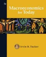 Macroeconomics for Today (Available Titles CengageNOW)