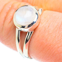 Rainbow Moonstone 925 Sterling Silver Ring Size 9 Ana Co Jewelry R51223F