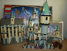LEGO HARRY POTTER  4709 HOGWARTS CASTLE COMPLETE ALL 9 FIGS INSTRUCTIONS BOX