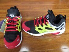 NEW Reebok Fury Adapt Sneakers Shoes MENS SZ 7 Black/ Green /Red $90.