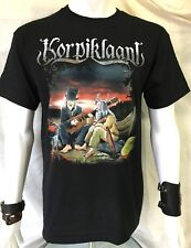 KORPIKLAANI Official T-Shirt(M)Original New Genuine Merch. Folk Metal Vodka 40A