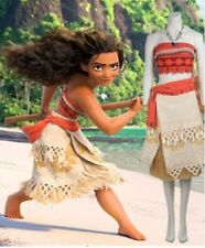 Costume Moana - Complete Set w/ Wig - Halloween and Events - for Kids and Adults