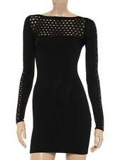 FAITH CONNEXION Knit black mini dress - size M