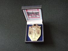 More details for england - 1966 world cup winners medal - c/w box - gold plated