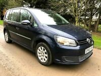 60 VOLKSWAGEN TOURAN 1.6 S TDI 1 OWNER FULL MOT EXCEPTIONAL CONDITION HPI CLEAR