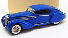 Top Marques 1/43 Scale Model EC1 - 1938 Delage D8-120 Aerocoupe - Blue 1 Of 150