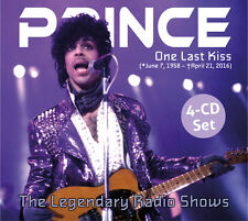 PRINCE - One Last Kiss (Live Radio Broadcast 1985-1998) - Digipak-4CD - 734006