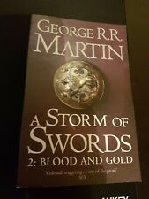 Game of Thrones book 3 Storm of Swords Part 2 Blood and Gold