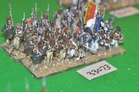 28mm napoleonic / french - regiment 32 figures plastic - inf (33073)