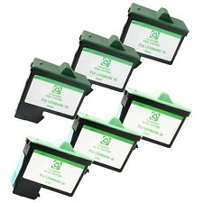 6 PACK LXM16 26 Ink Cartridges for Lexmark Z13 23 25 34 35 515 600 602 Printers