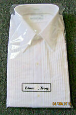Neil Alllyn Formal Pleated Shirt, Tux Shirt 15-15.5 x 30-31 New