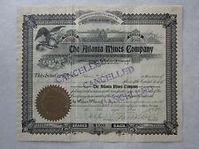 The Atlanta Mines Company   An Arizona Corporation