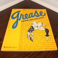 GREASE Vocal Selections A New 50's Rock 'N Roll Musical music sheet book E8464a
