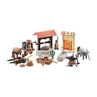 Playmobil Add-On Medieval Village Accessories Building Set 9842 NEW