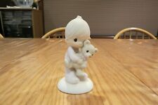 Precious Moments Jesus Loves Me figurine with little boy box included