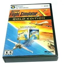 Microsoft Flight Simulator X: Gold Edition (PC: Windows, 2008) BIG BOX