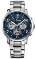 BRAND NEW TOMMY HILFIGER MULTI DIAL STAINLESS STEEL STRAP MEN WATCH 1791293