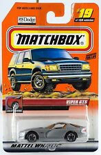 Matchbox #19 Viper GTS With MB 2000 Logo New On Card