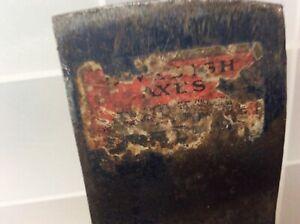 Vintage Single Bit Drop Forged Swedish Axe Works S.A.W. Wetterlings Sweden NICE