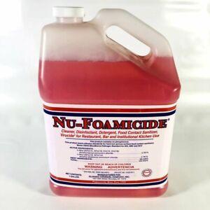 Glissen Nu-Foamicide All-Purpose 1-Gallon Cleaner Disinfectant Concentrate