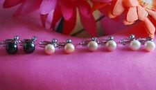 10 mm Freshwater Pearl Screw-back Clip-on Earrings