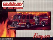 Fire Equipment Brochure - Saulsbury - Custom Pumper Customer Examples (DB145)