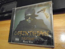 SEALED RARE OOP Corinthian CD D. Platinum The Album remix hits Truth Bornn rap !