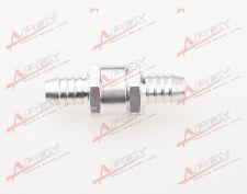 "6mm 1/4"" Fuel Non Return One Way Check Valve Petrol Diesel Aluminium Alloy"