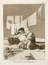 Goya Prints: Los Caprichos 25, 52, 55: 3 Fine Art Prints