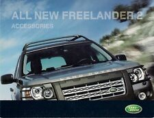 LAND ROVER FREELANDER 2 ACCESSORI 2006-07 UK MARKET FOLDOUT SALES BROCHURE